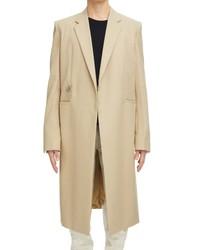 Givenchy Padlock Long Cotton Gabardine Coat