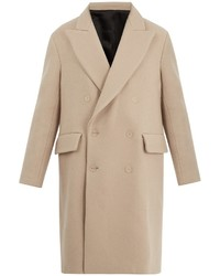 Rover peak lapel double breasted wool overcoat medium 6860340