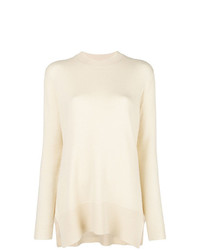 Derek Lam Asymmetric Crew Neck Sweater