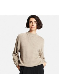 Uniqlo Cotton Oversized High Neck Sweater