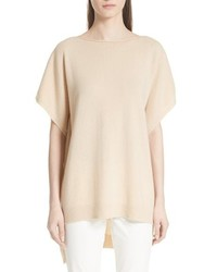 Dropped hem cashmere sweater medium 8679810