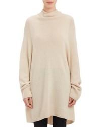 The Row Oversize Mandel Sweater Nude