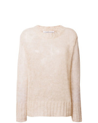 Oversized textured sweater medium 8299300