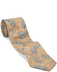 Bill Blass Classic Fit Silk Paisley Tie