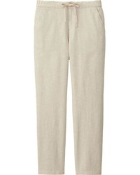 Uniqlo Cotton Linen Relaxed Pants