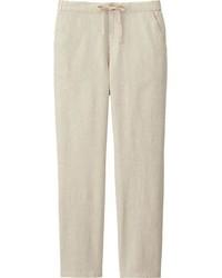 Cotton linen relaxed pants medium 448662