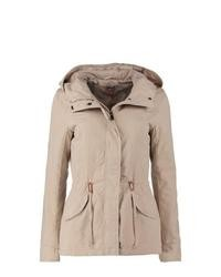 Only Star Parka Beige