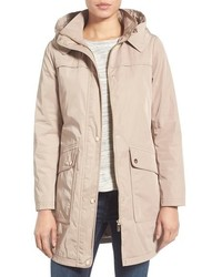 Water repellent hooded parka medium 1210833