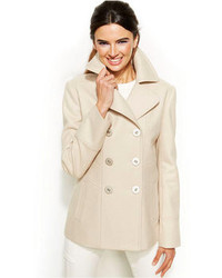 Beige pea coat original 1441905