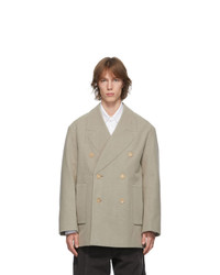 Jacquemus Brown Le Caban Peacoat