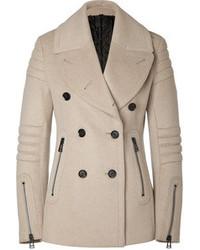 Belstaff Wool Cashmere Croft Moto Pea Coat