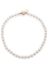 Majorica 8mm White Pearl Strand Necklace16