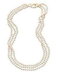 Macy's Pearl Necklace 100 Cultured Freshwater Pearl Endless Strand Necklace