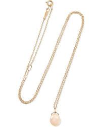 Catbird Mermaids Treasure 14 Karat Gold Pearl Necklace