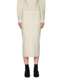 Isabel Marant Ecru Orema Skirt