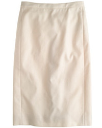 J.Crew No 2 Pencil Skirt In Cotton Twill