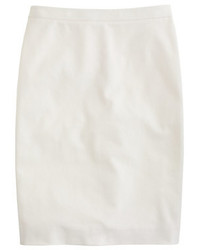 J.Crew Petite Pencil Skirt In Stretch Cotton