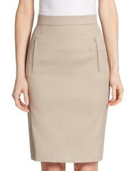 Akris Punto Zip Pocket Pencil Skirt