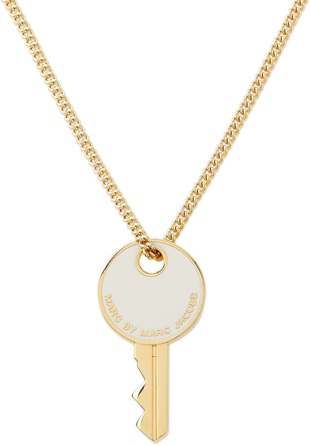 Marc by marc jacobs golden key pendant necklace where to buy how marc by marc jacobs golden key pendant necklace mozeypictures Choice Image