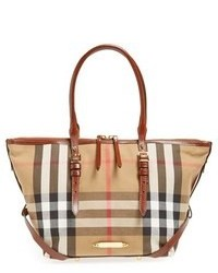 Burberry House Check Small Tote