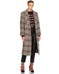 Isabel Marant Flint Plaid Coat