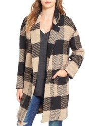 ASTR Plaid Coat