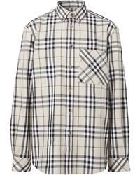 Burberry Button Down Signature Check Shirt