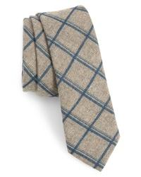 The Tie Bar Plaid Cotton Tie