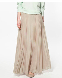 Dorothy Perkins Petite Pleated Maxi Skirt | Where to buy & how to wear