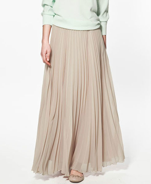 ChicNova Pleated Maxi Skirt | Where to buy & how to wear