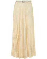 9f3f1fda0d Pleated Chiffon Maxi Skirts for Women   Women's Fashion   Lookastic.com