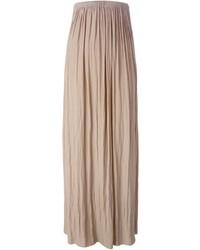Lanvin pleated maxi skirt medium 271985