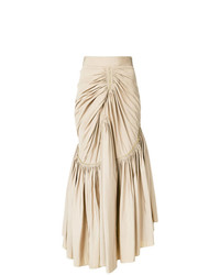Maticevski Devoured Gathered Skirt