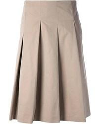 Max Mara Pleated Skirt