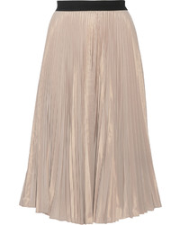Pliss taffeta midi skirt medium 433497
