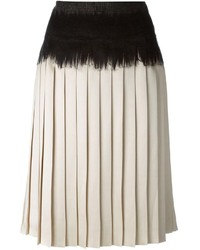 Salvatore Ferragamo Pleated Skirt