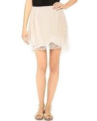 Lace edge skirt medium 50793