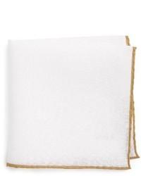 Solid linen pocket square medium 3652531