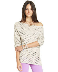 BCBGeneration Perforated Sweater