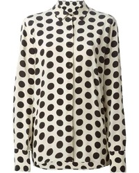 Petar petrov polka dot print shirt medium 213042