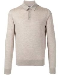 Dolce & Gabbana Long Sleeve Polo Shirt