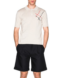 J.W.Anderson Jw Anderson Hand Stitch Embroidery Polo