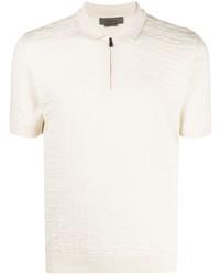 Corneliani Textured Polo Shirt