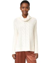 TSE Cashmere Long Sleeve Cashmere Poncho Sweater