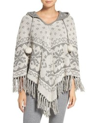 Reversible hooded poncho medium 817510