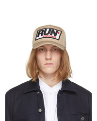 DSQUARED2 Beige Run Cap