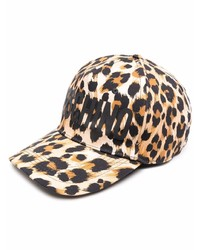 Moschino Leopard Print Cap