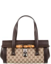 Gg canvas bamboo bullet bag medium 3665699