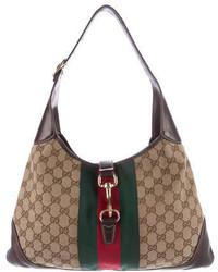 Gucci Gg Canvas Bouvier Bag