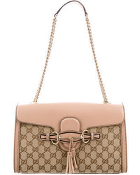 Gucci Gg Canvas Emily Chain Bag
